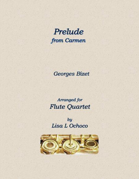 Overture from Carmen for Flute Quartet