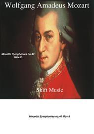 Motzart - Mnuetto Symphonies no.40 Mov-3
