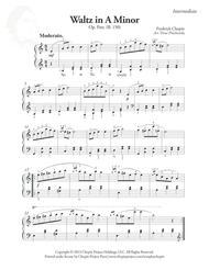 Waltz in A Minor, Op. Post.