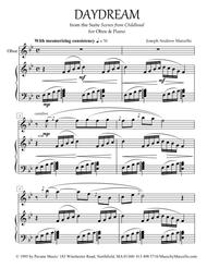 Daydream - from 'Scenes from Childhood' for Oboe & Piano
