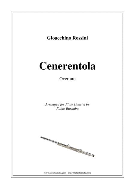 La Cenerentola - Overture for Flute Quartet