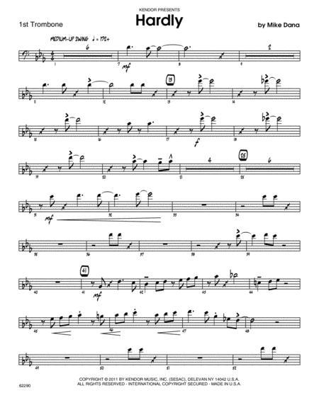 Hardly - Trombone 1