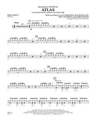 Atlas (from The Hunger Games: Catching Fire) - Percussion 1