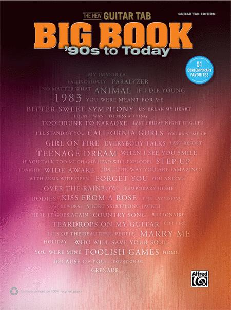 The New Guitar Big Book of Hits -- '90s to Today