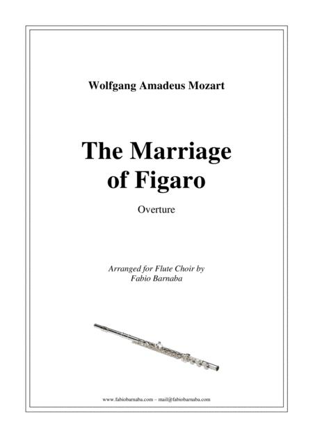 The Marriage of Figaro - Overture for Flute Choir