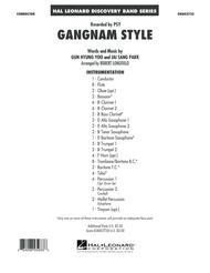 Gangnam Style - Conductor Score (Full Score)