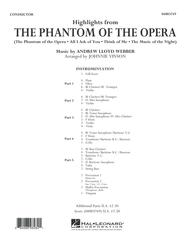 Highlights from The Phantom of the Opera - Conductor Score (Full Score)