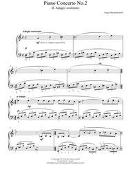 Piano Concerto No.2 - 2nd Movement