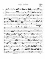 Trio for organ, BWV 584