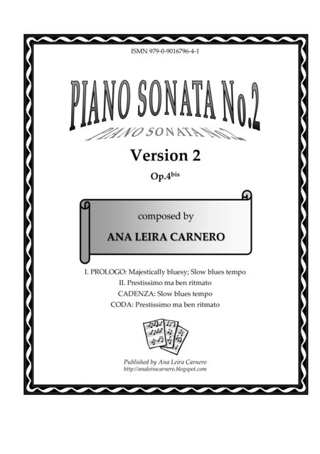 Piano Sonata No.2, Version 2
