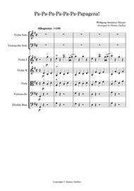Pa-Pa-Pa-Pa-Pa-Pa-Papagena! (String Orchestra)