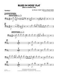 Blues in Hoss' Flat (Blues in Frankie's Flat) - Trombone 1