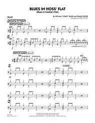 Blues in Hoss' Flat (Blues in Frankie's Flat) - Drums