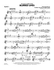 Blurred Lines - Trumpet 1
