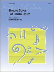 Simple Solos For Snare Drum