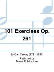CZERNY 101 EXERCISES Op261 Piano