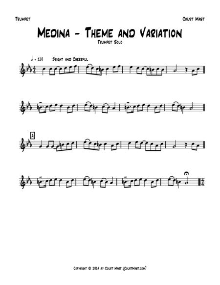 Medina – Theme and Variation – Trumpet Solo