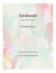 Sarabande, from Pour le Piano