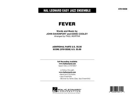 Fever - Conductor Score (Full Score)