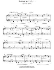 Prelude No.2, Op.11