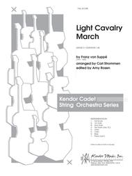 Light Cavalry March - Full Score
