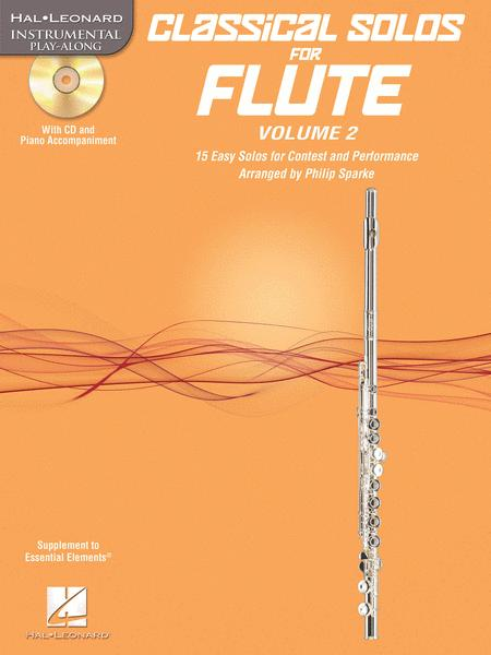 Classical Solos for Flute, Vol. 2