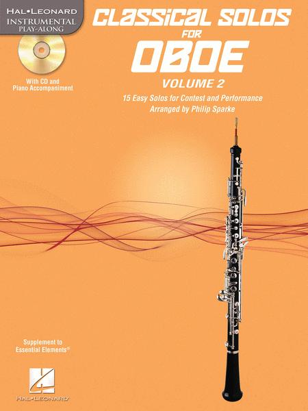 Classical Solos for Oboe, Vol. 2