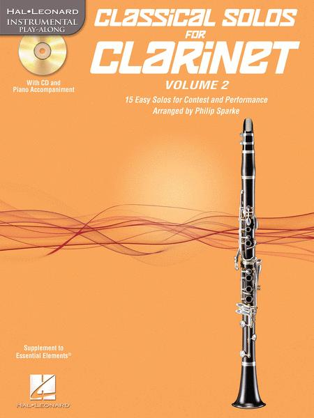 Classical Solos for Clarinet, Vol. 2