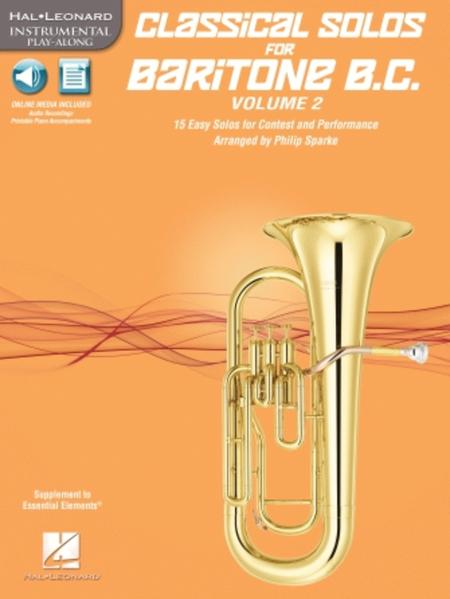 Classical Solos for Baritone B.C., Vol. 2