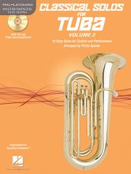 Classical Solos for Tuba (B.C.), Vol. 2