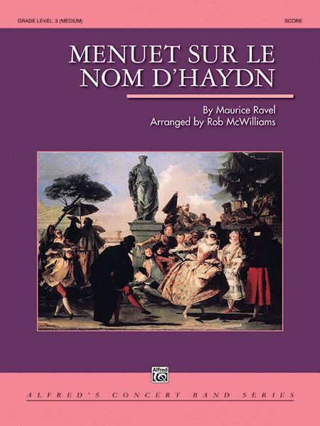 Menuet sur le nom d'Haydn