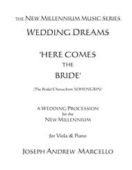 Here Comes the Bride - for the New Millennium - Viola & Piano