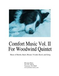 Comfort Music Vol. Two for woodwind quintet
