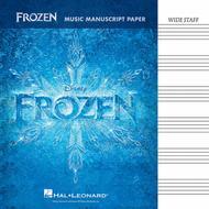 Frozen - Music Manuscript Paper