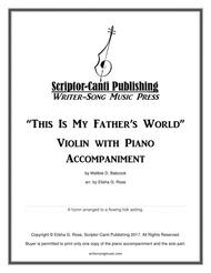 This Is My Father's World - Violin