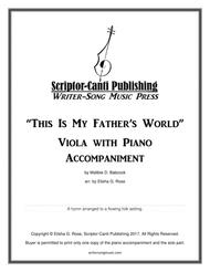 This Is My Father's World - Viola