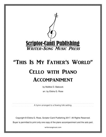 This Is My Father's World - Cello