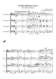 O Mio Babbino Caro (Cello Quartet)