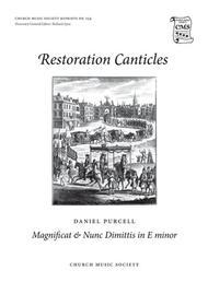 Magnificat & Nunc dimittis in E minor