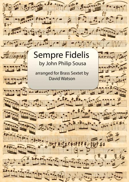 Semper Fidelis for Brass Sextet