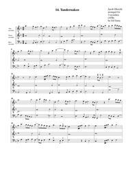 t'Andernaken (arrangement for 3 recorders)
