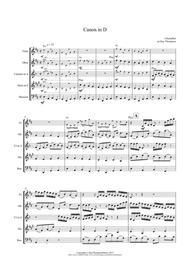 Pachelbel: Canon In D - wind quintet