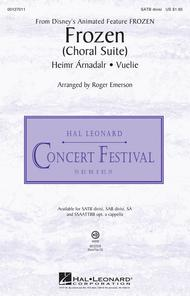 Frozen (Choral Suite) - ShowTrax CD