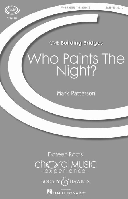 Who Paints the Night?