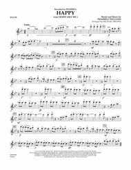 Download Happy (from Despicable Me 2) - Flute Sheet Music By