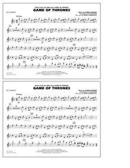 Game of Thrones (arr. Jay Bocook) - Bb Clarinet