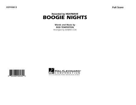 Boogie Nights - Conductor Score (Full Score)