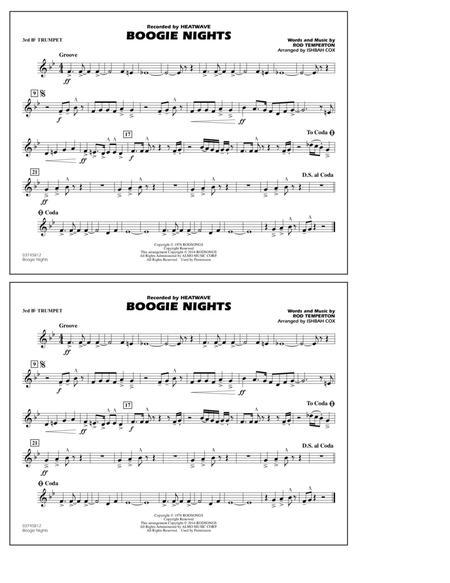 Boogie Nights - 3rd Bb Trumpet