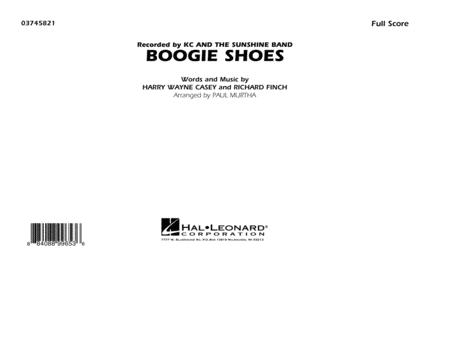 Boogie Shoes - Conductor Score (Full Score)