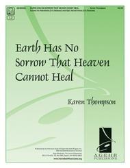 Earth Has No Sorrow That Heaven Cannot Heal